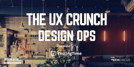 UX Crunch Amsterdam: DesignOps tickets