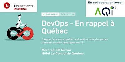 Conférence DevOps - Événements Les Affaires