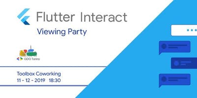 Flutter Interact: Torino Viewing Party