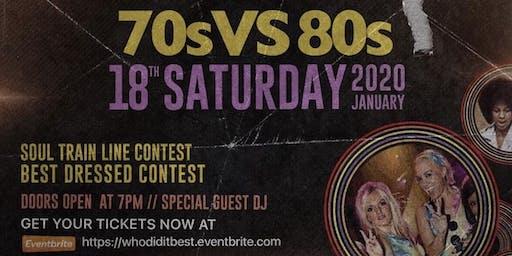 70's vs 80's Disco&Dance