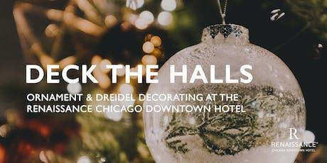 Deck The Halls   Ornament & Dreidel decorating tickets