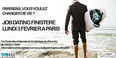 Job Dating Club TGV Finistère billets