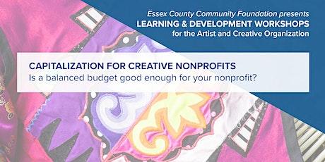 Capitalization for Creative Nonprofits tickets
