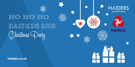 Ho Ho Ho Haiders Hub Xmas Party tickets