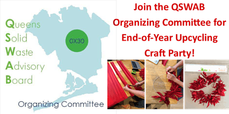 QSWAB Organizing Committee End-Of-Year Upcycling Craft Party tickets