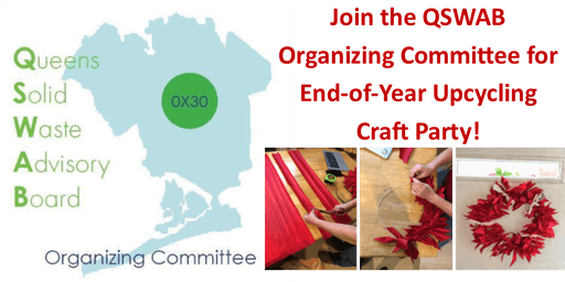 QSWAB Organizing Committee End-Of-Year Upcycling Craft Party