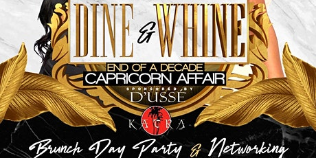 DINE AND WHINE! END OF A DECADE tickets