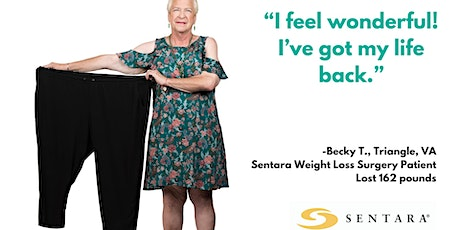 FREE Sentara Weight Loss Surgery Center Information Session tickets