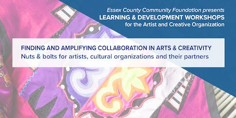 Finding and Amplifying Collaboration in Arts & Creativity tickets