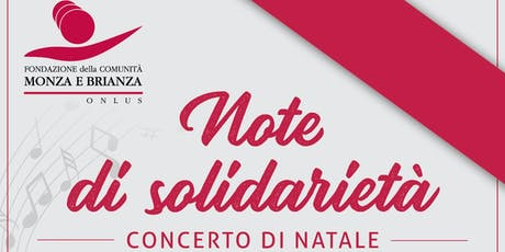Note di Solidarietà 2019 biglietti