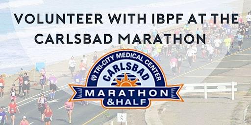 Volunteer at the Carlsbad Marathon with IBPF