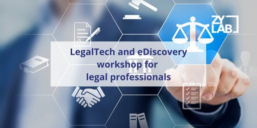 LegalTech Workshop for legal professionals - January 30  2020