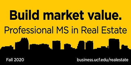 Professional MS in Real Estate 1/22/2020 tickets