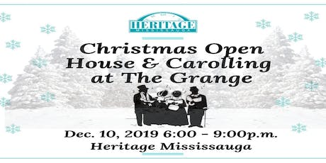 Christmas Open House & Carolling tickets