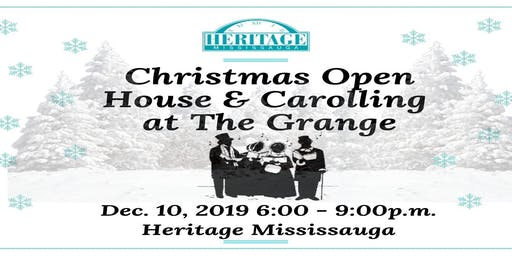 Christmas Open House & Carolling