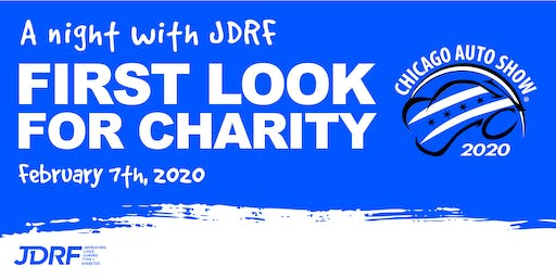 A Night with JDRF  at the Chicago Auto Show's First Look For Charity