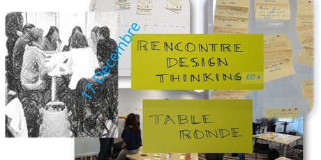 Rencontre Design Thinking Nokia Paris Saclay - Table ronde billets