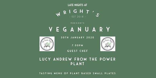 Guest Chef Lucy Andrew from The Plant Power - Veganuary Supper Club