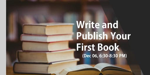 How to Publish Your First Book!