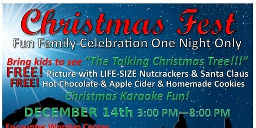 Christmas Fest! A Free, Fun, Family Celebration!