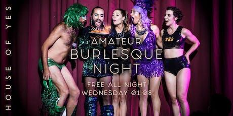 Amateur Burlesque Night: Sweet 16 tickets