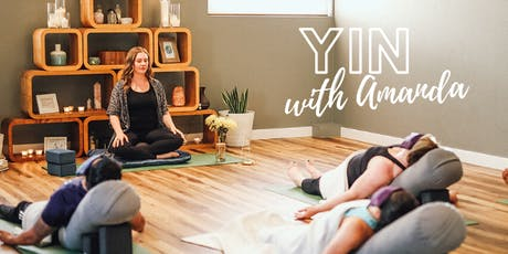 Yin Yoga - 8 Week Preregistered Classes tickets