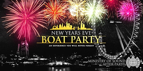 New Years Eve Cruise with Fireworks on the River Thames! tickets