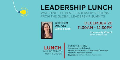 Leadership Lunch tickets