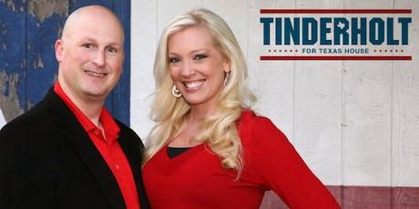Reception Honoring Representative Tony Tinderholt tickets