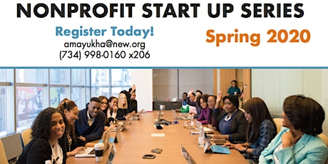 Nonprofit Start Up Series - Spring 2020 tickets