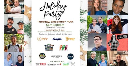 Bay Area CPG Natural Products & Entrepreneurship Holiday Party tickets