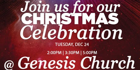 Christmas Eve Services - 2:00PM, 3:30PM, & 5:00PM  tickets
