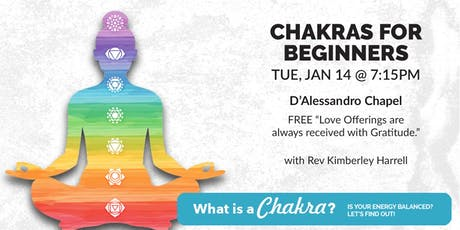 Chakras for Beginners tickets