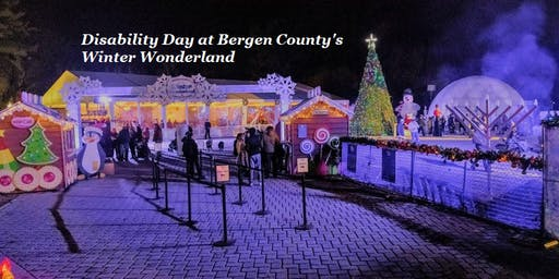 Disability Day at Bergen County's Winter Wonderland