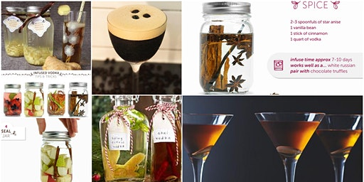 Organic Vodka Infusion Class - Winter to Spring