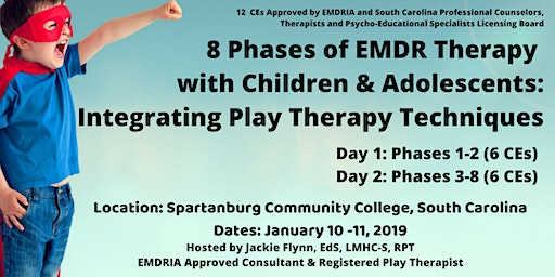 8 Phases of EMDR Therapy with Children and Adolescents in South Carolina