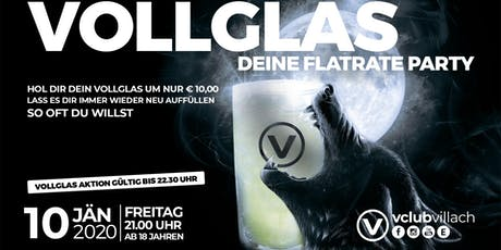 Vollglas - deine Flatrate Party Tickets