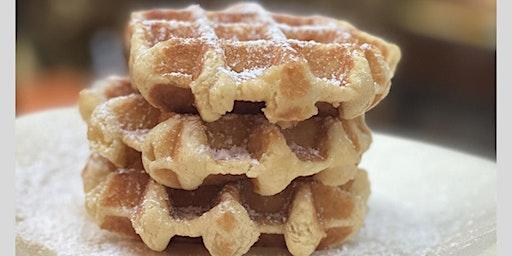 Crepe and Waffle Tasting with a Seasonal Crepe Demo!