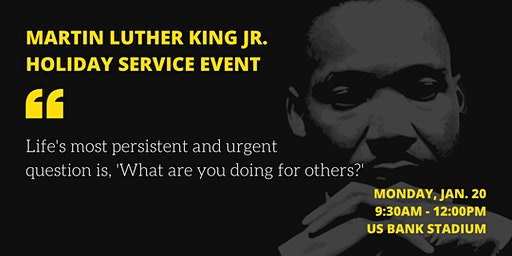 Martin Luther King Jr. Holiday Service Event