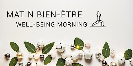 Matin bien-être | Well-being morning billets