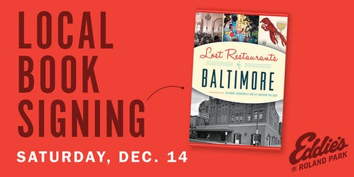 Book Signing: Lost Restaurants of Baltimore