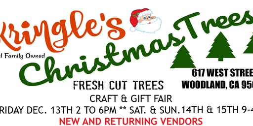 Craft and gift fair at Kringle's Christmas Trees