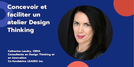Concevoir et faciliter un atelier Design Thinking tickets