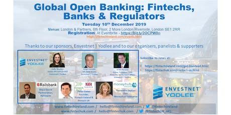 Global Open Banking Fintechs, Banks & Regulators tickets
