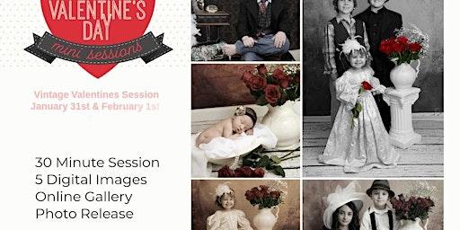 Vintage Valentine Mini Sessions