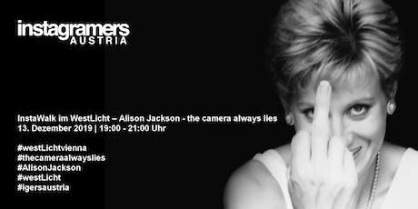 InstaWalk im WestLicht – Alison Jackson - the camera always lies (empty museum) tickets
