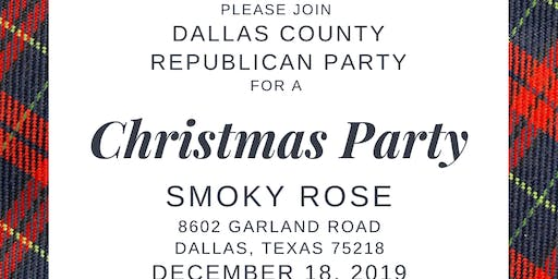 Dallas GOP Christmas Party