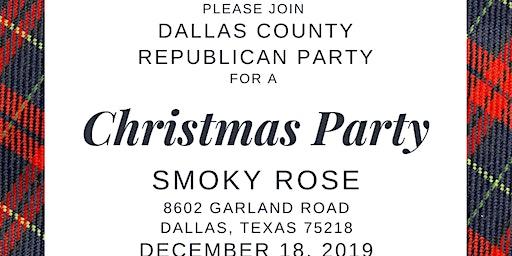 Dallas GOP Christmas Party