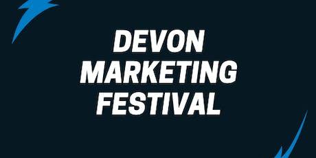 Devon Marketing Festival tickets
