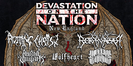 Devastation on the Nation: New England with Rotting Christ & Borknagar